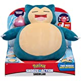 Pokèmon PKW0027 Snooze Action Snorlax - Figura Decorativa