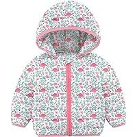 Manteaux bouffants légers d'hiver pour bébés Filles garçons 0-36 Mois Vestes rembourrées à Capuche Coupe-Vent vêtements…