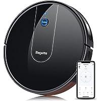 Bagotte Robot Aspirapolvere 1600Pa, 55DB Silenzioso,WiFi/App/Alexa Adatto a Pavimenti e Tappeti, Ottimo per i Peli degli…