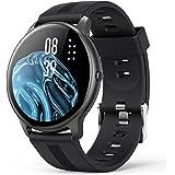 AGPTEK Montre Connectée Homme, Smartwatch Bluetooth 5.0 Sport Etanche IP68 Bracelet Connecté Fitness avec Tensiometre Fréquen