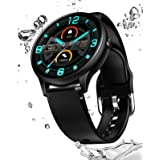 Smart Watch Fitness Tracker Heart Rate Monitor Body Temperature Blood Pressure Step Calories Counter Sleep Monitor Waterproof