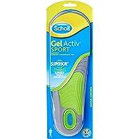Scholl Insoles Men's Sport Gel Active UK Shoe Size 7-12