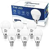Techgomade Lampadine LED E14, Lampadine LED E14 Luce Calda, 5.5W Lampadine LED E14, Lampadina LED Equivalente da 50W, 470LM,