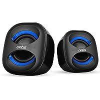 Artis Mini 2.0 USB Multimedia Speakers (Blue)