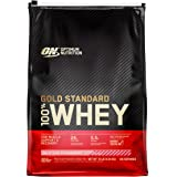 Optimum Nutrition Gold Standard 100% Whey Protein Isolate Powder, Delicious Strawberry, 10 Lb, 146 Servings