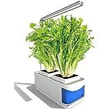 Vogvigo Kit de Cultivo Interior Smart Garden,Sistema de Cultivo Hidropónico,Kit de Jardín de Hierbas para Interiores con Luz