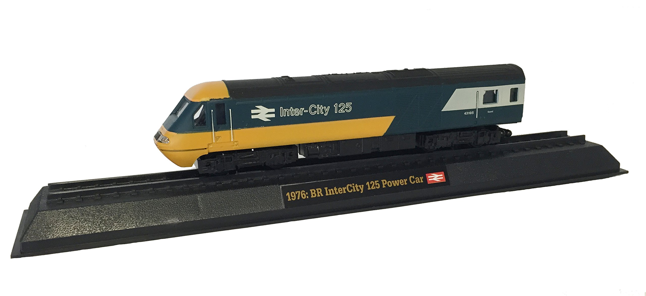 BR InterCity 125 Power Car - 1976 Diecast 1:76 Scale Locomotive Model (Amercom OO-17)