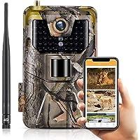 SUNTEKCAM APP Cloud Service 4G Caméra de Chasse 20 MP 1080P Wildlife Caméra étanche IP66 Trail Camera, Vision Nocturne…
