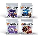 Tassimo Hot Choco Bundle - Cadbury, Oreo, Milka, zoekard Schoten - 4-pack (40 porties)
