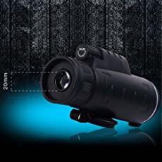 AST Works New 35x50 Night Vision Adjustable Zoom Monocular Telescope Camping & Hunting MT