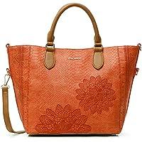 Desigual Pu Hand Bag, Borsa a Mano. Donna, Taglia unica