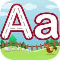 Letter Trace for Children Learning to Write - Includes Uppercase, Lowercase, and Short Words