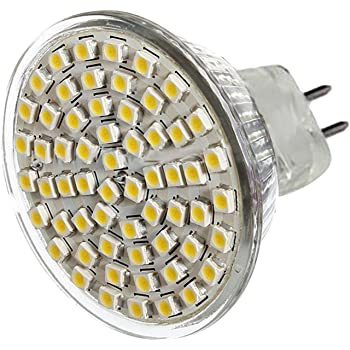 Gosear 5 Piezas MR16 gu 5.3 5W Bombillas LED luz 450lm Flujo Luminoso Ahorro de energía