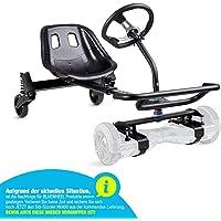 """Bluewheel Sitz-Scooter HK400   Sitz Erweiterung für 6,5 – 10"""" Self Balance Scooter   Hover E-Kart, Elektro Go-Kart…"""