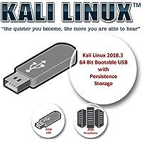 Kali Linux 2018.3 sur USB 32 Go avec un volume de persistance de 26 Go pour les tests d'intrusion