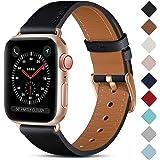 CeMiKa Lederen Band Compatibel met Apple Watch Bandje 38mm 40mm 42mm 44mm, Vervangende Lederen Bandje Compatibel met iWatch S