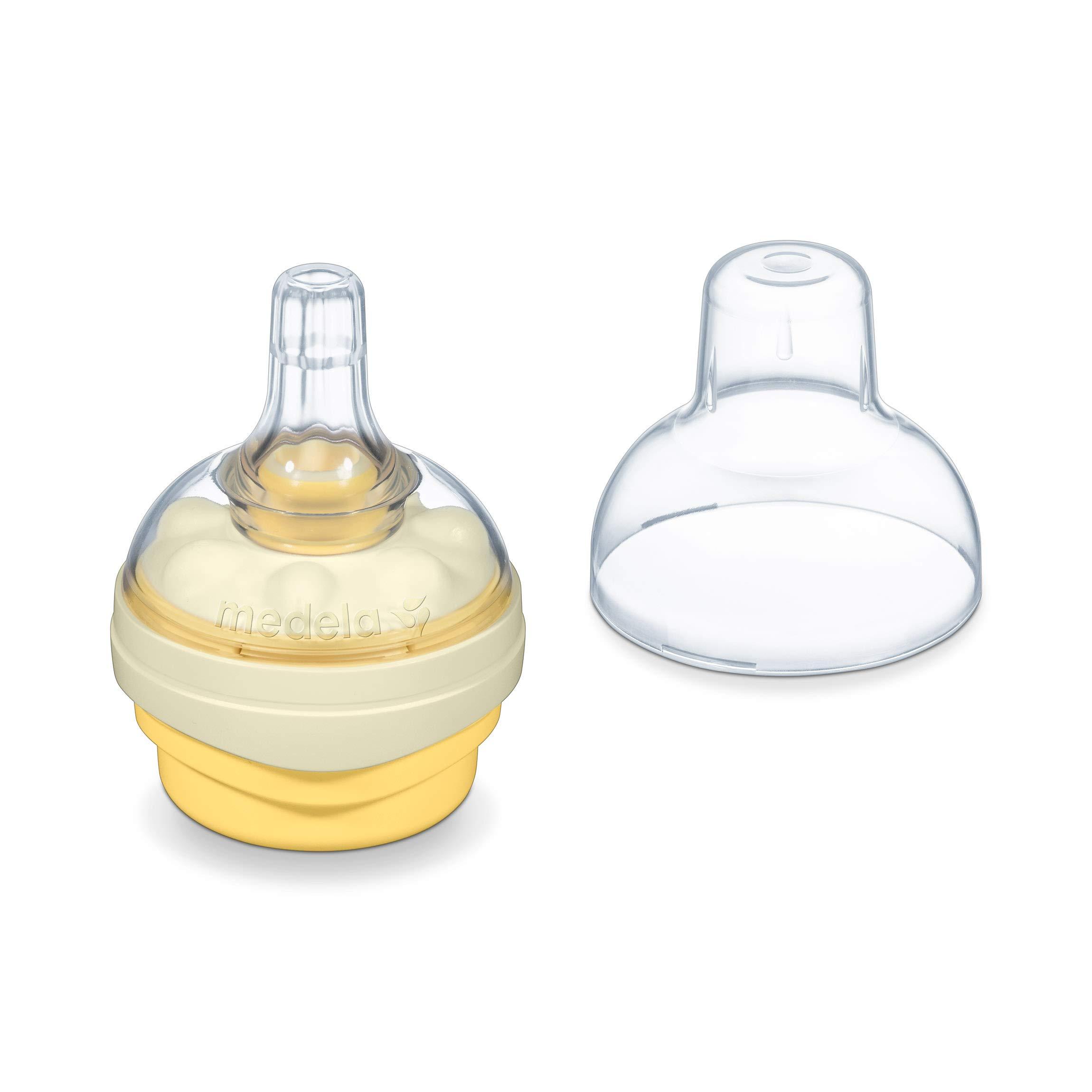 Sauger Calma und Muttermilchbeutel inkl Medela Babyflaschen Set
