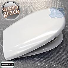 Sedile per wc GRACE Ceramica Globo in termoindurente - ACB Ercos
