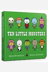 Ten Little Monsters Board Book Board book