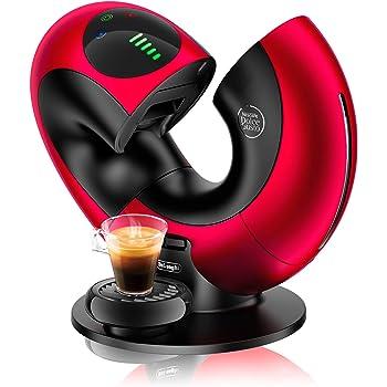 DELONGHI Nescafé Dolce Gusto Eclipse Máquina de café, 1500 W, efecto cepillado, EDG