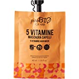 PUROBIO Maschera per Capelli Alle 5 Vitamine - 40 ml