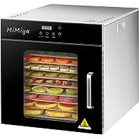 Déshydrateur Alimentaire, MiMiya 10 Plateaux • Desydratateur avec Minuteur (24H), Température Réglable(30 à 90°C…