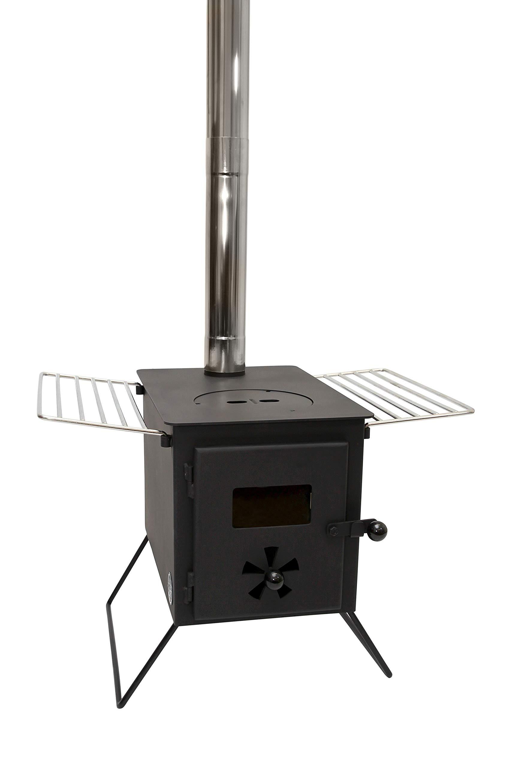 Outbacker 'Firebox' Portable Wood Burning Stove 1