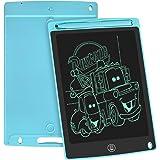 WOBEECO Tavoletta Grafica LCD Scrittura, 8.5 Pollici Lavagna da Disegno Digitale con Pulsante di Cancellazione e Blocco, Educ