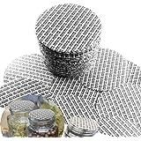 100 stuks koppel-geactiveerde drukgevoelige afdichtingen schuimafdichtingen pads 70 mm voor glazen plastic bal Mason metalen