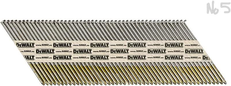 6 St/ück DeWalt DNPT2863G12Z Streifennagel DNPT GlattGal 63mm 2.2kSt Mehrfarbig