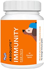 Drools Absolute Immunity Tablet Dog Supplement, 50 Pieces