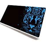 EXCOVIP Extended Large Gaming Mouse Pad XL Thick Non-Slip Rubber Base Mouse pad Mice Smooth Cloth Surface Keyboard Mouse Pads