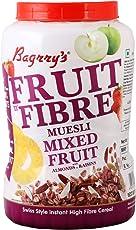 Bagrry's Fruit and Fibre Muesli, Mixed Fruit, 1000g