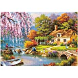 BURFLY 1000 Pieces Jigsaw Puzzles for Adults, Puzzle Sets for Family, Cardboard Puzzles, Educational Games, Brain Challenge Puzzle for Kids Childrens