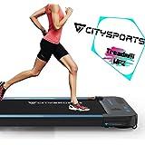 CITYSPORTS Cinta de Correr Caminar Eléctrica Motor 440W, Altavoces Bluetooth, Velocidad Ajustable, Pantalla LCD y Contador de