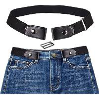 Cintura Donna Elastica Senza Fibbia,Pantaloni dei Jeans Cintura Invisibile Regolabile,Cintura Elastica Senza Fibbia per…