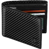 Portafoglio Uomo, BIAL RFID Slim Portafoglio Uomo Pelle, 8 Porta Carte di Credito 3 Finestre Di Identificazione…