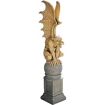 Figur Design Toscano Trystan Gargoyle-W/ächter der Nacht