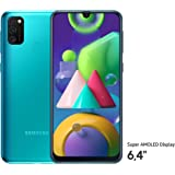 Samsung Galaxy M21 Smartphone (16,21 cm (6,4'') 64 GB interner Speicher, 4 GB RAM, Android, green) Deutsche Version