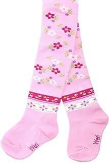 Weri Spezials Baby und Kinderstrumpfhose in Rosa Erdbeere niedlich und huebsch