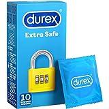 Durex Extra Safe Kondomer i naturligt latexgummi 10 stycken