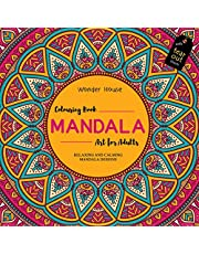 Mandala Art Colouring Books for Adults with Tear Out Sheets