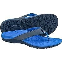 Everhealth Men's Sandals Orthotic Arch Support Flip Flops Thongs for Plantar Fasciitis, Flat Feet & Heel Spurs, Comfort…
