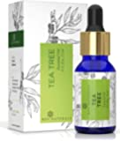 Rey Naturals Tea Tree Essential Oil for Aromatherapy - Tea Tree Essential Oil for Healthy Skin, Face, and Hair - 100…