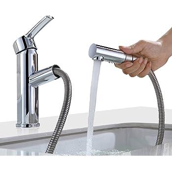 Homelody Waschtisch Armatur Bad Wasserhahn Mit Ausziehbarem Brause