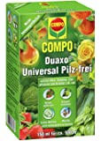 COMPO Duaxo Universal Pilz-frei, Bekämpfung von Pilzkrankheiten an Obst, Gemüse, Zierpflanzen und Kräutern, Konzentrat inkl. Messbecher, 150 ml
