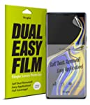 Ringke Dual Easy Full Coverage Screen Protector for Galaxy Note 9 High Resolution Easy Application Case Friendly Screen...
