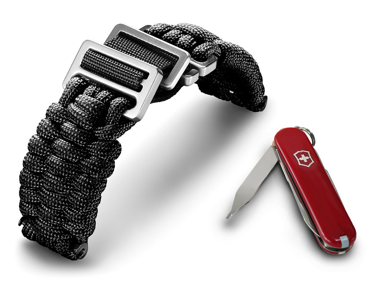 Victorinox I.N.O.X Paracord Bracelet Black 60022