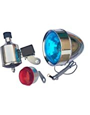 GI™ Classic Bicycle Dynamo with Retro LED Front and Back Light 12v 6w