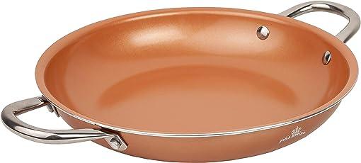 PALEMISO Brat-Pfanne mit Kupfer-Keramik-Titan-Beschichtung
